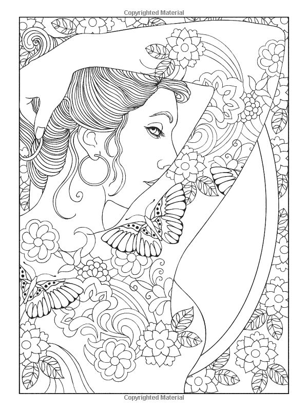 Welcome to Dover Publications: Body Art: Tattoo Designs Coloring ...